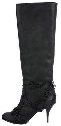Givenchy Leather Knee-High Boots