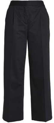 Moschino Cotton-Blend Straight-Leg Pants