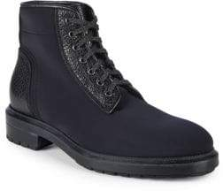 Aquatalia Tyson Neoprene Round Toe Ankle Boots