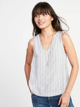 Old Navy Sleeveless Tie-Shoulder Top for Women