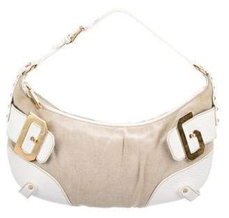 Dolce & Gabbana Leather-trimed Shoulder Bag