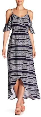 Cotton On & Co. Deb Cold Shoulder Hi-Lo Dress
