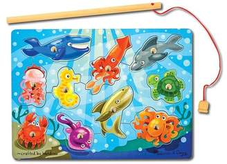 Fishing Magnetic Puzzle Game - 10 Pieces