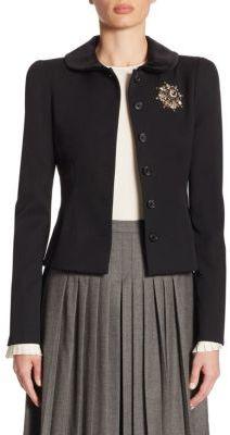 Ralph Lauren Collection Cecillia Wool Jacket $2,290 thestylecure.com