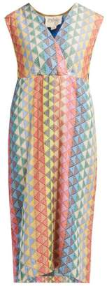 Ace&Jig Freda Zigzag Cotton Dress - Womens - Multi