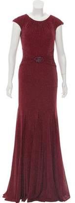 Jovani Embellished Maxi Dress w/ Tags