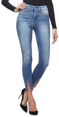 Good American Good Legs Crop - Blue217