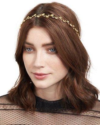 Jennifer Behr Carolina Leaf Circlet Headband $400 thestylecure.com