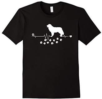 Breed Bernese Mountain Dog Heartbeat Gift Dogs T-shirt