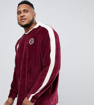 Puma Velvet Long Sleeve Polo