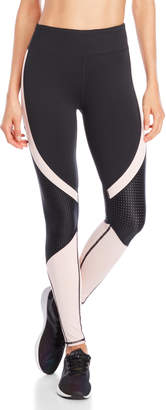 Andrew Marc Performance Mesh Color Block Leggings