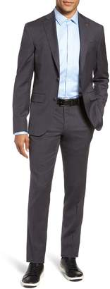 Ted Baker Rove Slim Fit Solid Wool Suit