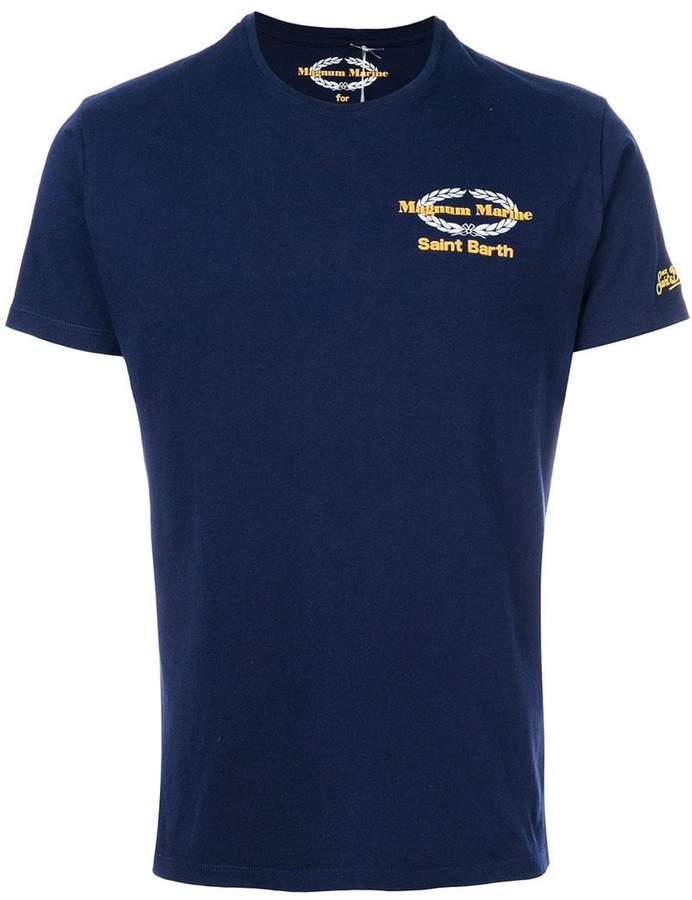 T-Shirt mit Magnum-Print