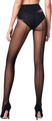 Wolford Hosiery Individual 10 Control Top Back Seam Tights