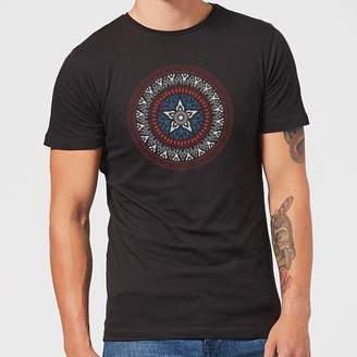 Marvel Captain America Oriental Shield Men's T-Shirt