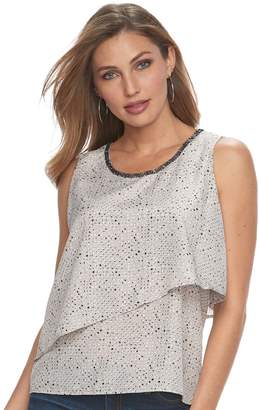 Juicy Couture Women's Embellished Layered Tank