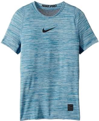 Nike Pro Short Sleeve Top HTR Boy's Clothing