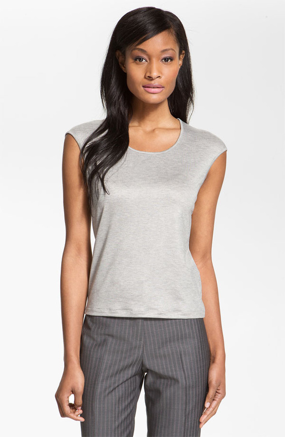 Santorelli Scoop Neck Top
