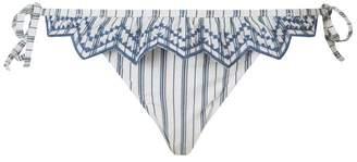 Seafolly Sea Stripe Triangle Bikini Top