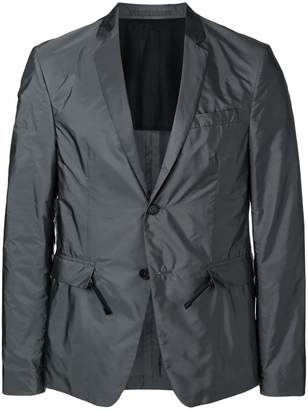 Prada nylon single breasted blazer