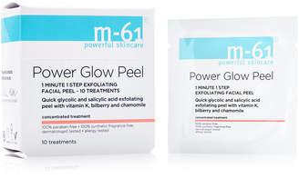 M-61 by Bluemercury PowerGlow Peel 1 Minute 1-Step Exfoliating Facial Peel - 10 Treatments