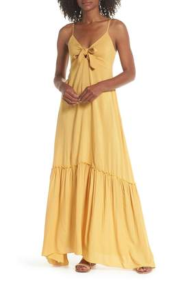 Elan International Maxi Cover-Up Dress