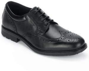 Rockport Leather Brogue Wingtip Oxfords