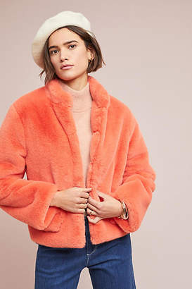 d.RA Mango Faux Fur Jacket