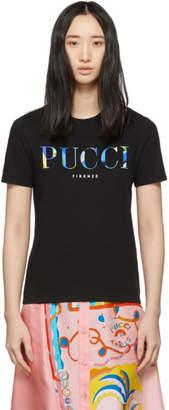 Emilio Pucci Black Logo T-Shirt