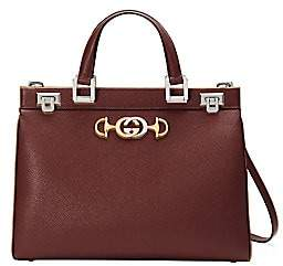 Gucci Women's Zumi Leather Top Handle Bag