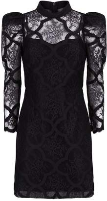Sandro Black Lace Dress