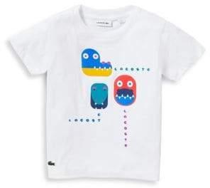 Lacoste Little Boy's& Boy's Game Print T-Shirt