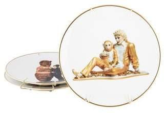 Bernardaud Banality Series Plates by Jeff Koons