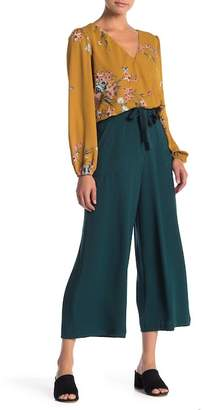 June & Hudson Wide Leg Crepe Pants