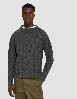 Thom Browne Cable Knit Sweater