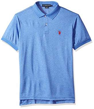 U.S. Polo Assn. Men's Classic Fit Short Sleeve Solid Poly Shirt
