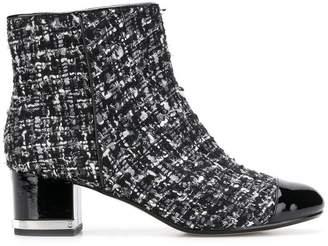 Michael Kors (マイケル コース) - Michael Kors Collection bouclé ankle boots