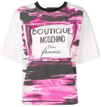 Moschino boxy-fit T-shirt