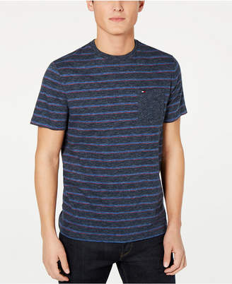 Tommy Hilfiger Men Saxon Indigo Stripe T-Shirt