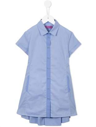 Valmax Kids pleated back dress