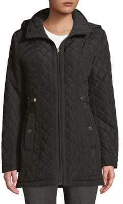 Gallery Petite Quilted Full-Zip Jacket