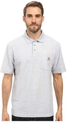 Carhartt Contractors Work Pockettm Polo Men's Short Sleeve Pullover