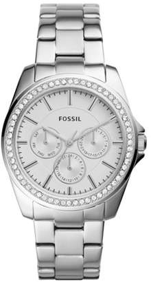 Fossil Janice Multifunction Stainless Steel Watch Jewelry