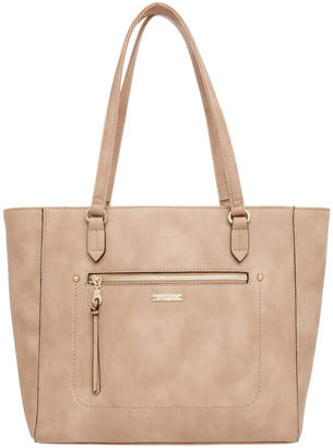 Jag Stitch Zip Top Tote Bag JH-0001