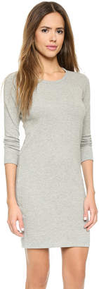 James Perse Raglan Sweatshirt Dress $135 thestylecure.com