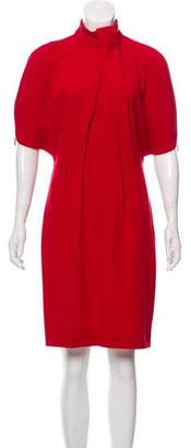 Salvatore Ferragamo Wool Knee-Length Dress