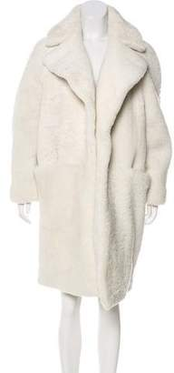 Martin Grant Oversize Shearling Coat w/ Tags