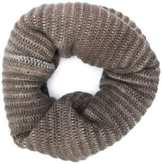 Avant Toi chunky rib knit snood