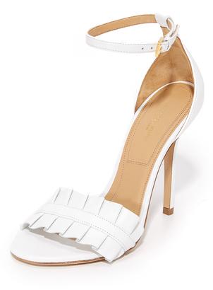 Michael Kors Collection Priscilla Sandals $375 thestylecure.com