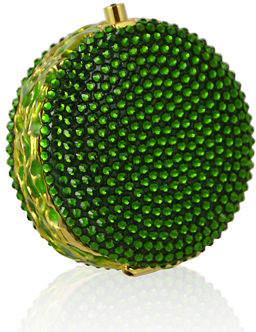 Judith Leiber Couture Macaron Crystal Pillbox